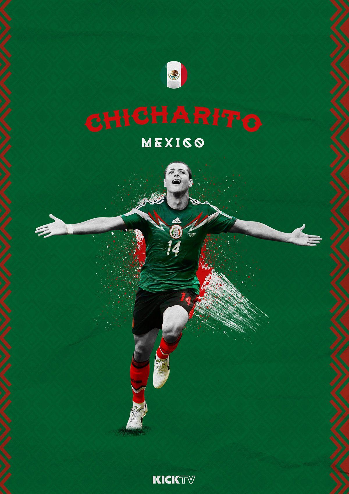 Player Graphics I Did For Kicktv For The Copa America Leyendas De Futbol Mundial De Futbol Futbol Mexico