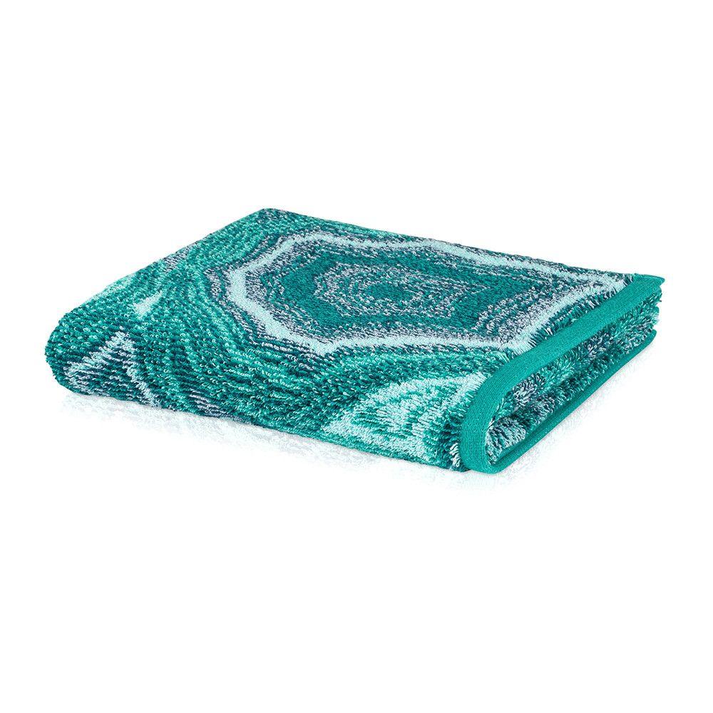Accessoire Salle De Bain Vert Emeraude ~ jewel towel emerald