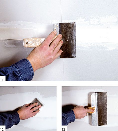 how to finish sheetrock seams