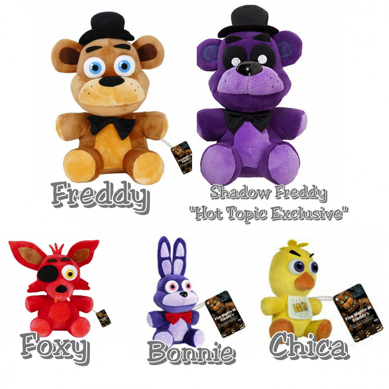 Koala Stuffed Animals Mini, Five Nights At Freddy S Set Of 5 6 Plush Figures Freddy Shadow Freddy Foxy Chica Bo Five Nights At Freddy S Fnaf Crafts Christmas Presents For Friends