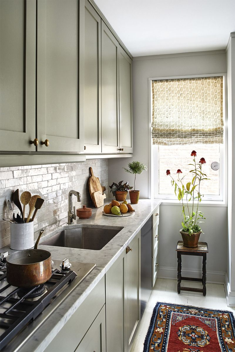 Light Gray Kitchen Cabinets Are About As Uncomplicated As It Gets