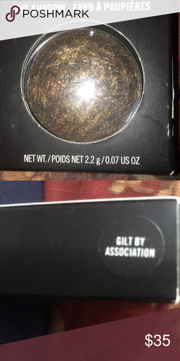 Mac MAC EYESHADOW GILT BY ASSOCIATION Makeup Eyeshadow
