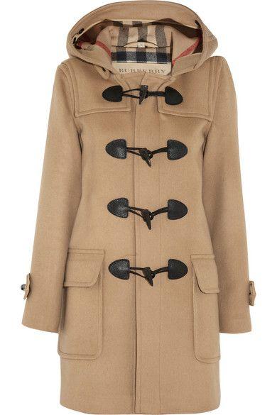 BURBERRY BRIT Wool-felt duffle coat | Tomboy Style | Pinterest ...