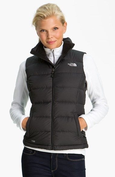 6d13d12595 Free shipping and returns on The North Face  Nuptse 2  Quilted Down Vest at  Nordstrom.com. A more feminine