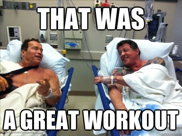 bddb8e9663f51fd29a2098929fb20396 now that must have been a kick ass workout humor pinterest