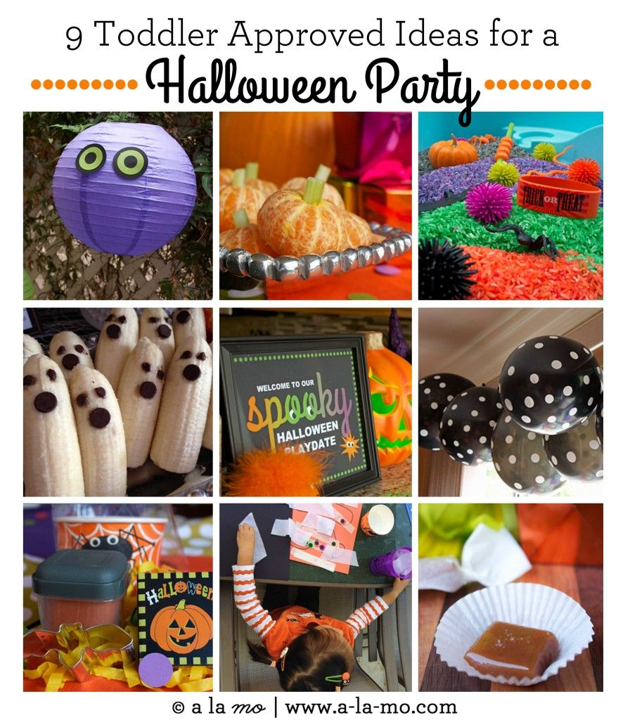spooky toddler playdate: a halloween party: 9 toddler approved ideas