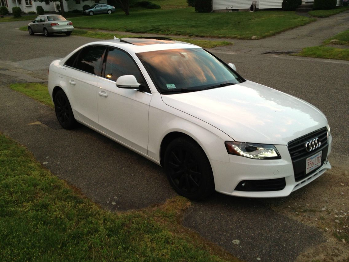 Black White Audi Cars Jantes
