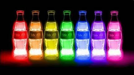 Coke of many color's