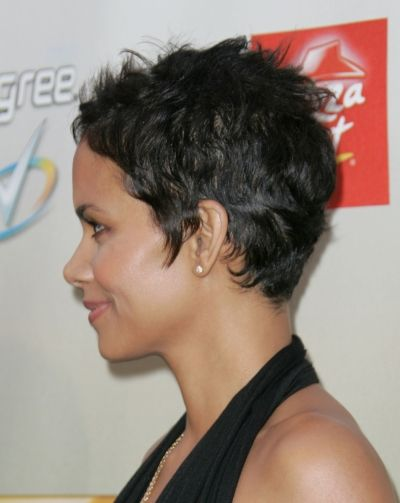 Halle Berry Short Hairstyles halle berry short hairstyles youtube Find This Pin And More On Never Too Short By Nikfc How To Get Halle Berry Hairstyle