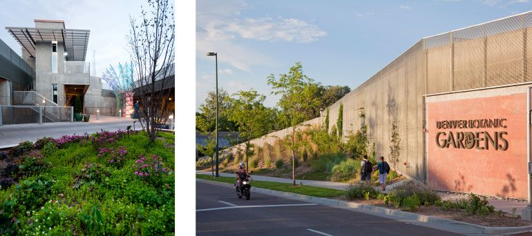 denver botanic gardens tryba architects parking