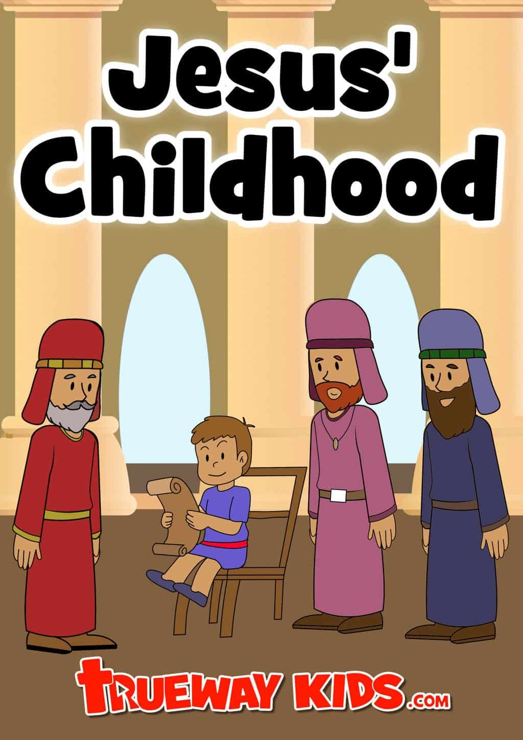 Free Printable Bible Lesson About Jesus Childhood And