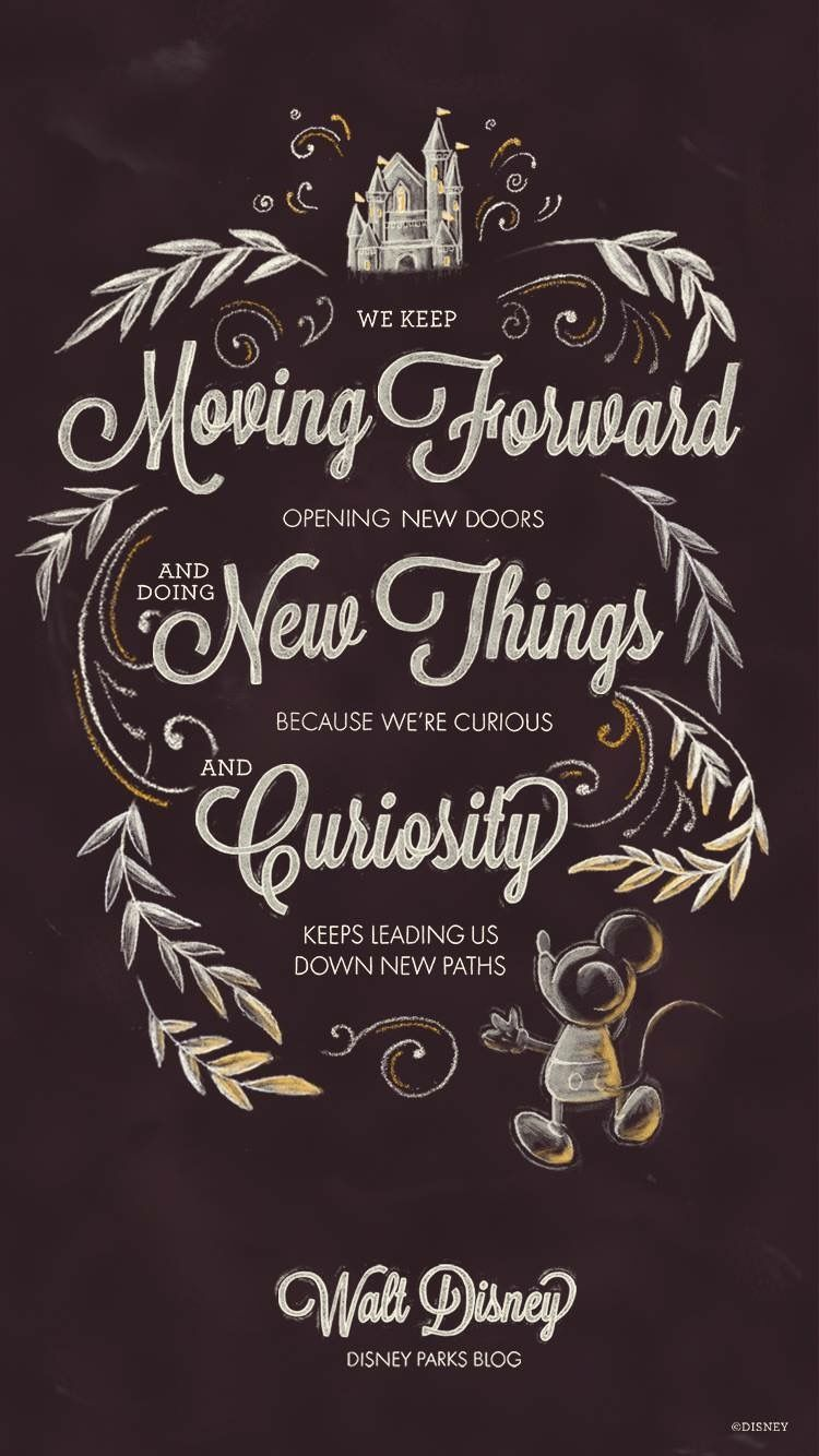 disney quote wallpaper  Disney quote | iPhone Wallpapers | Pinterest | Disney quotes