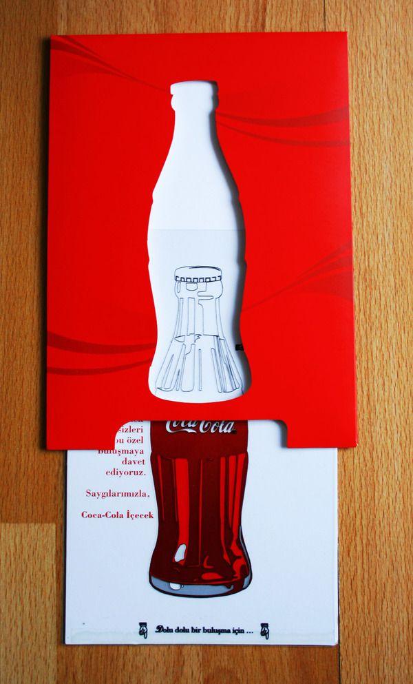 Coca Cola invitation by murat evin, via Behance | GRAPHIC ...