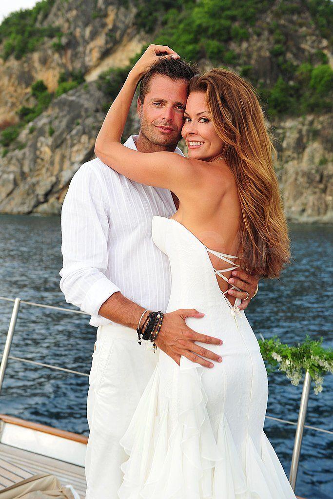 Brooke Burke Wedding | Brooke Burke Wedding To David Charvet In St. Barts  Pictures