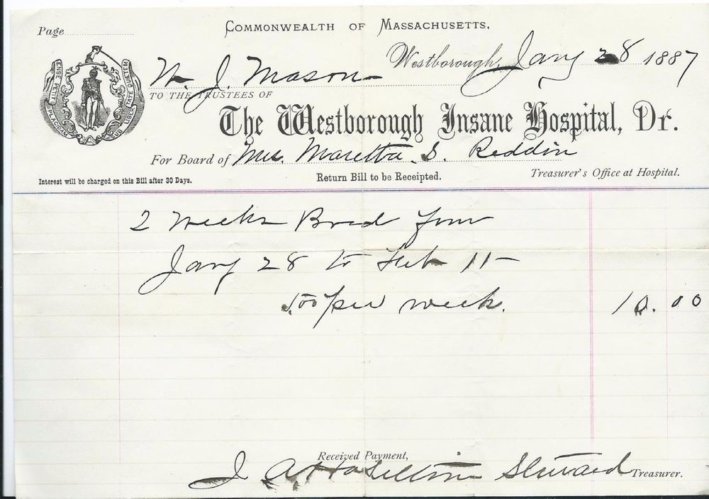 1909 Letter Rochester State Hospital, Minnesota Sent to Patientu0027s - letter of inquiry