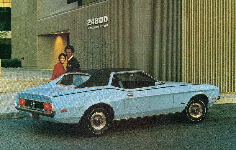 1972 Ford Mustang Grande 2 Door Hardtop Ford Mustang Muscle Cars Mustang Mustang