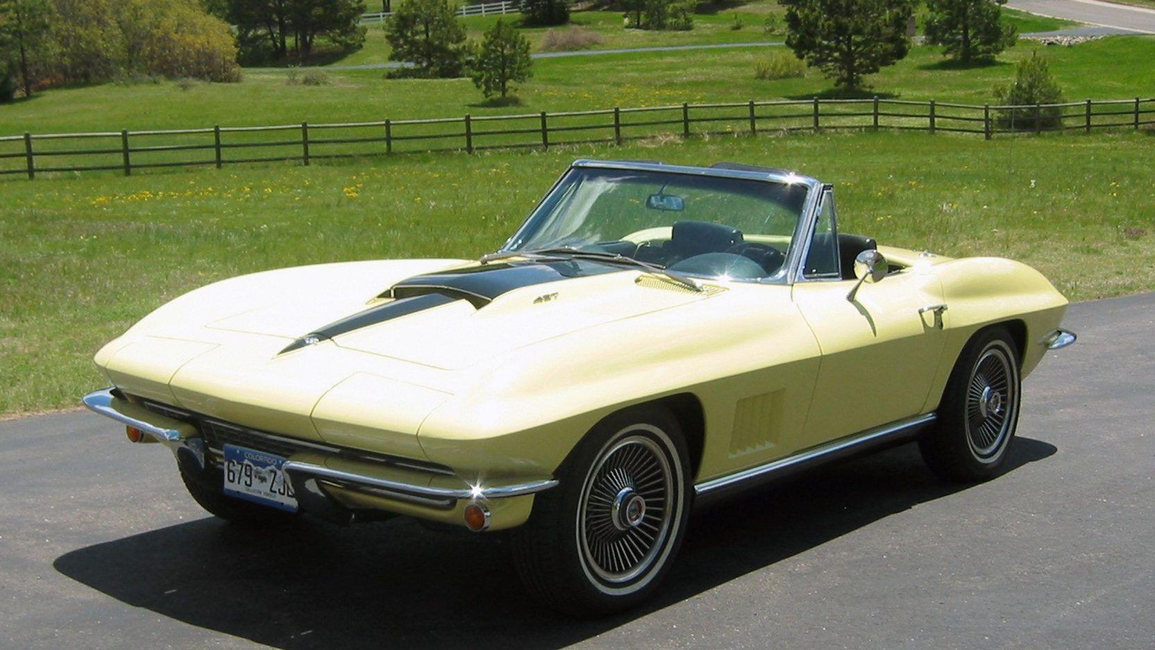 1967 Chevrolet Corvette Convertible 427/400 HP, 4Speed, 1
