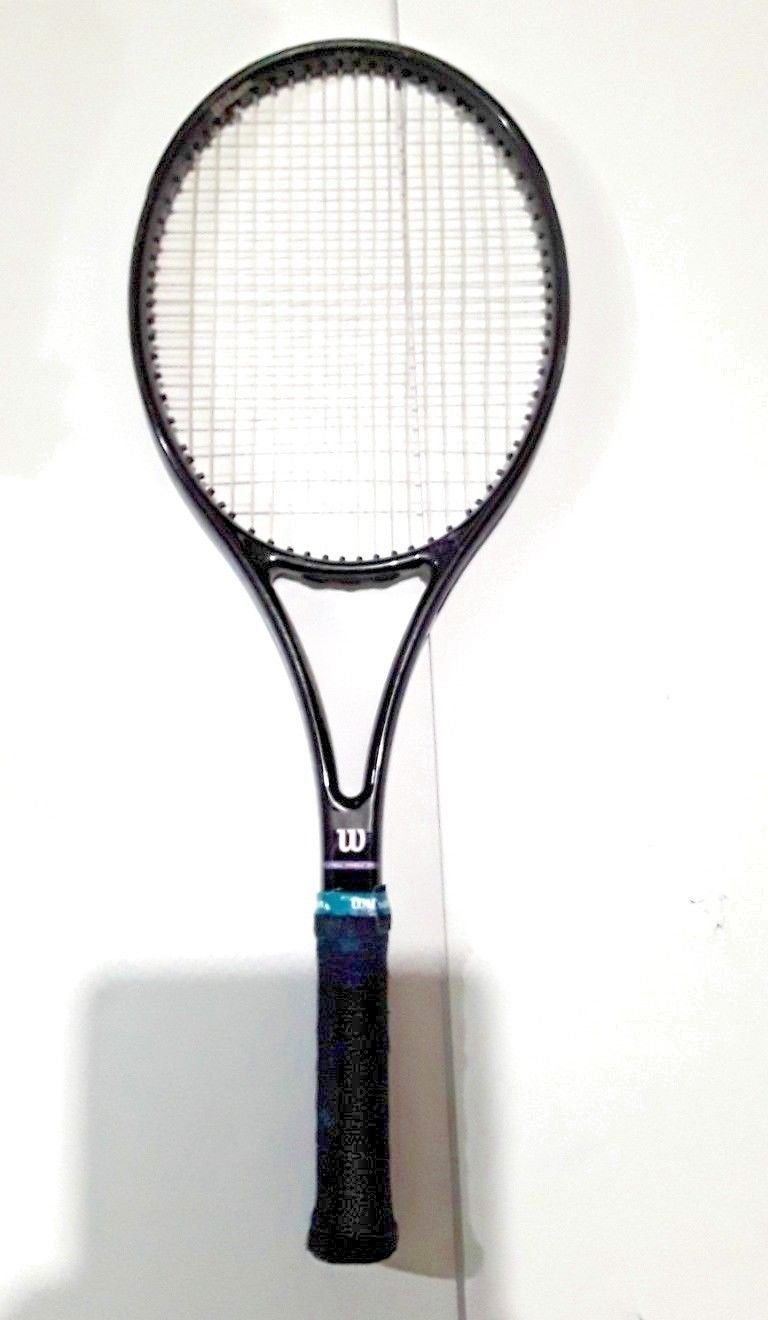 90s Vintage Wilson Profile 3 0 Aire Shell Tennis Racquet Grip 2 4 1 4 Purple Finish By Fchoicevintage On Etsy Tennis Vintage Tennis Tennis Racquet Racquets