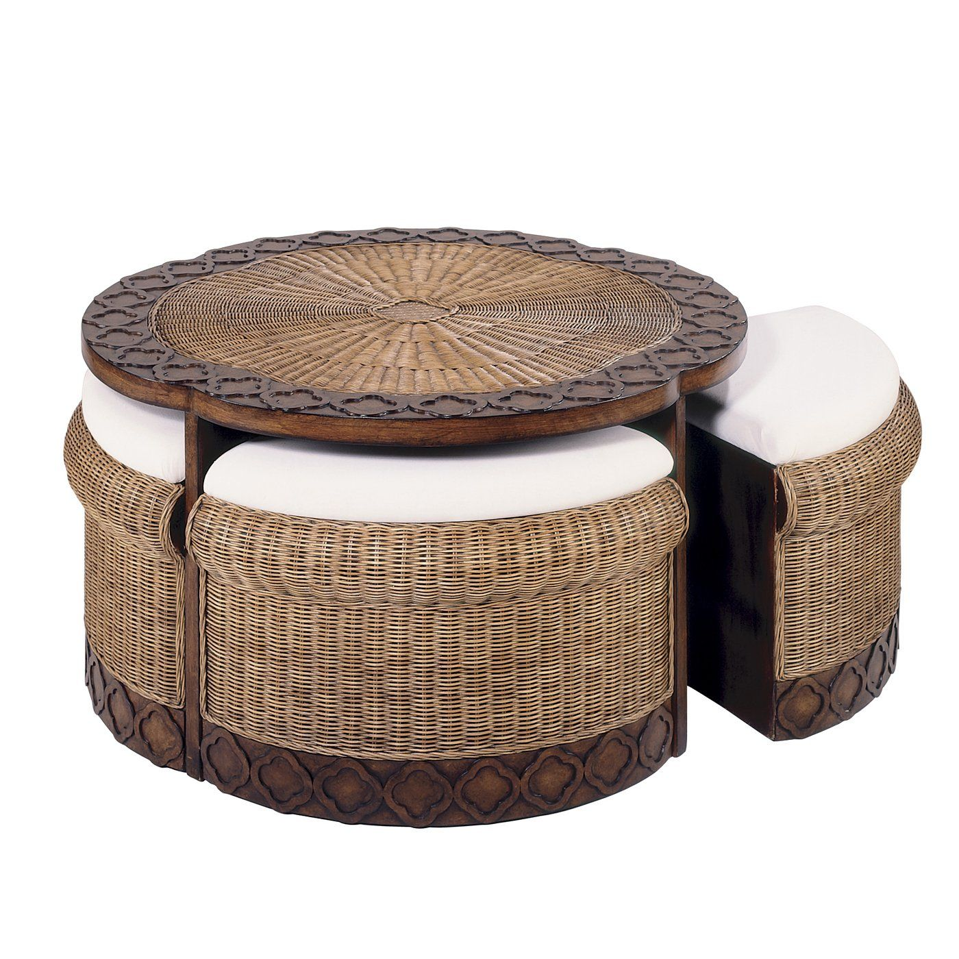 Hekman 72577 rattan coffee table special reserve