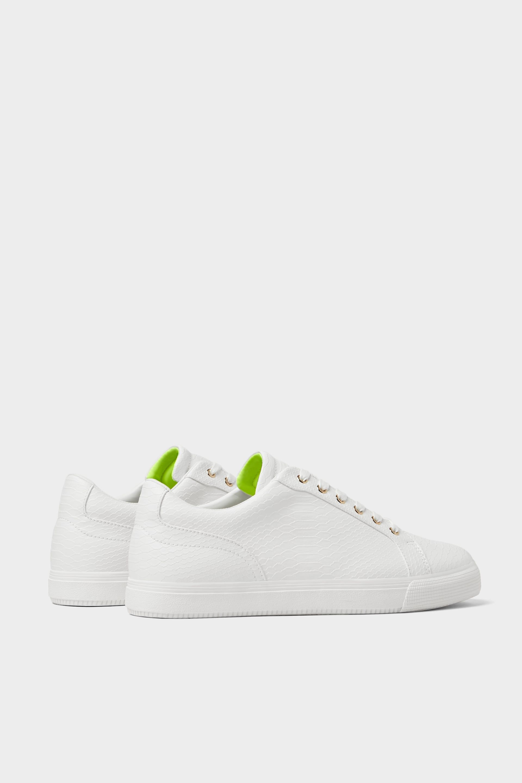 EMBOSSED SNEAKERS - Sneakers-SHOES-MAN