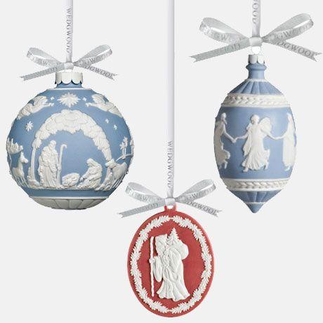 Wedgwood Christmas Ornaments.Wedgwood Jasperware Christmas Ornaments Christmas