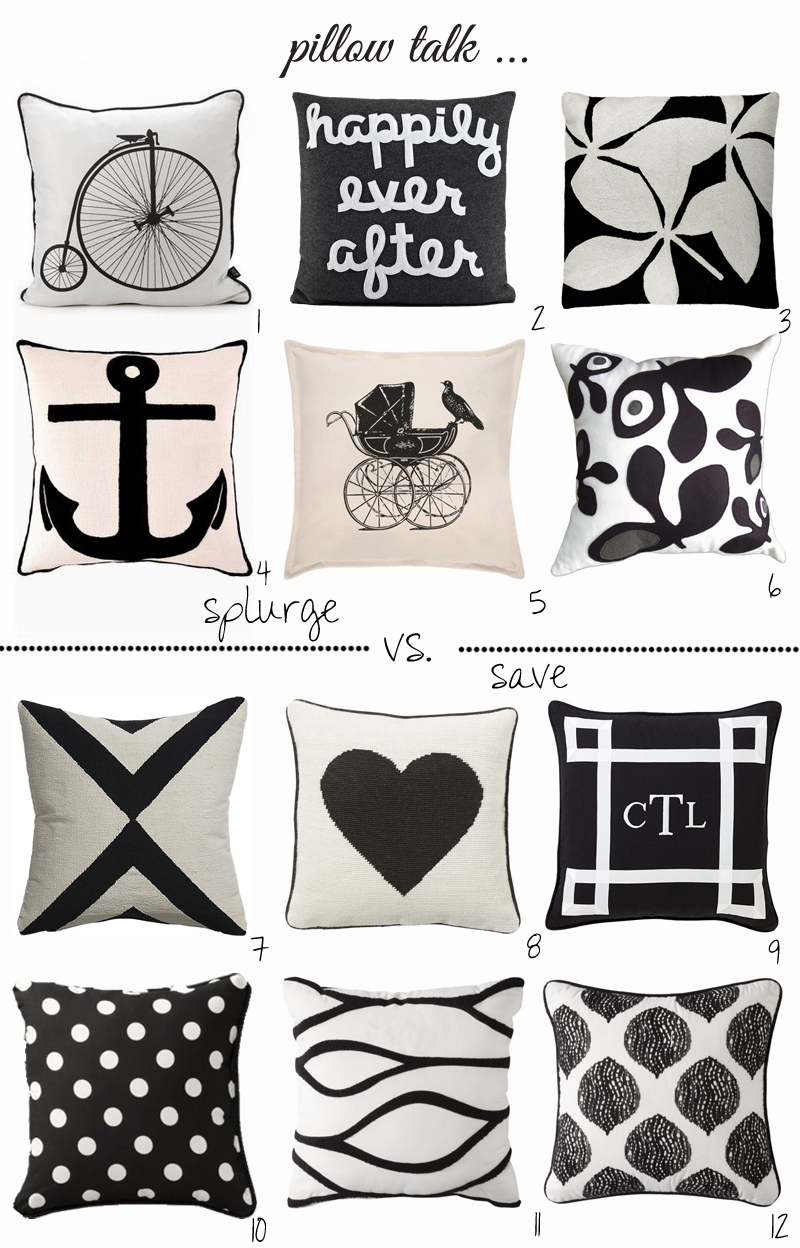 Black and white pillows all about the babies pinterest white