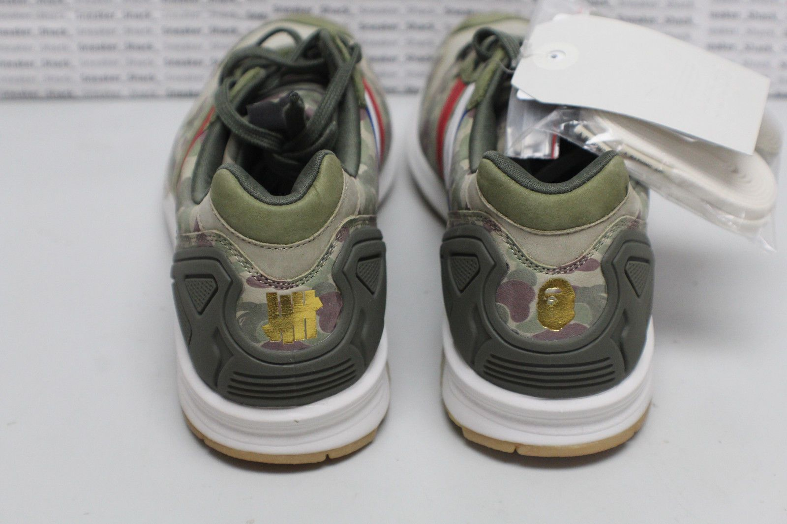 6c840cbc9aa0e NEW DS Adidas Undefeated BAPE A Bathing Ape ZX 5000 Camo Q34751 - Size 8.5