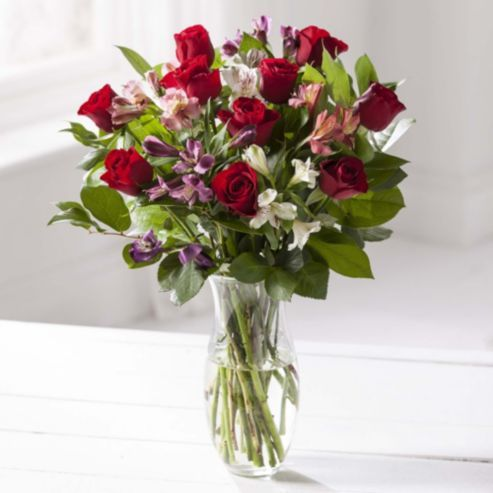 Tesco Direct Red Rose Bouquet Red Rose Bouquet Rose Bouquet Red Roses
