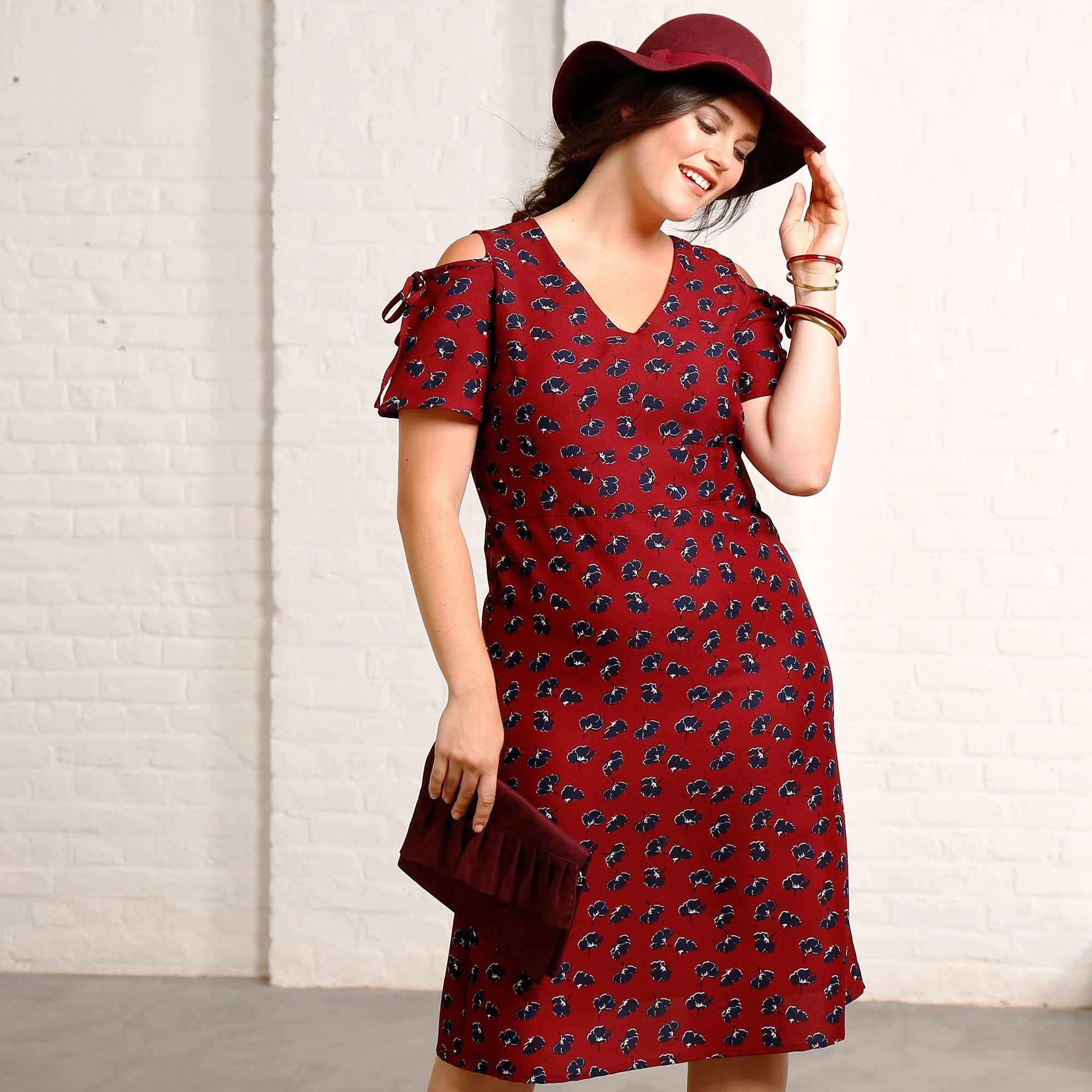 site réputé 74810 a7f14 Le charme opère avec cette robe Isabella®, joliment ...