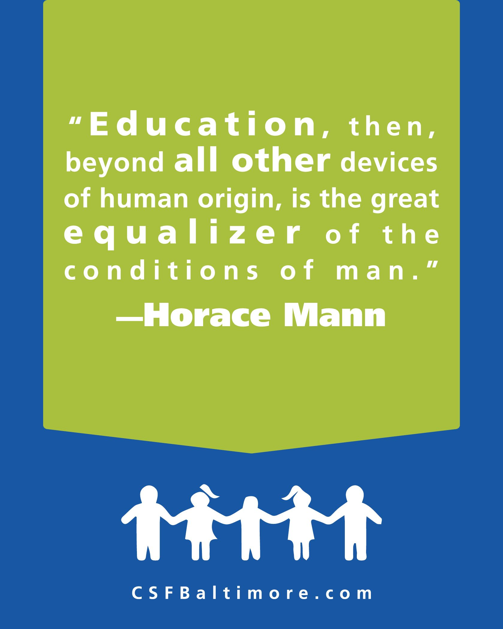 Education Is The Great Equalizer And Shouldnt Be Limited To The