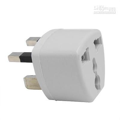 2 pin converter to 3 pin euro to uk travel  #european travel #adaptor plug #white,  View more on the LINK: http://www.zeppy.io/product/gb/2/272046594370/
