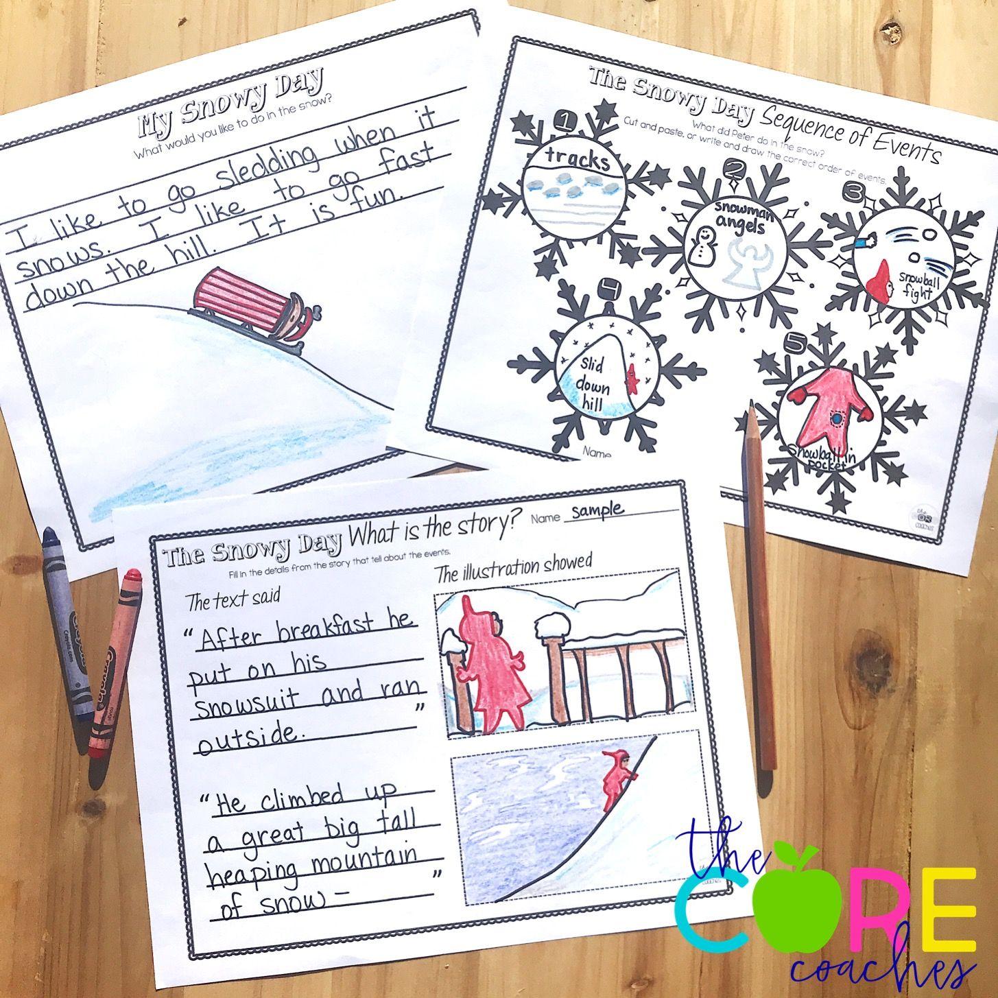 The Snowy Day Read Aloud For Kindergartners