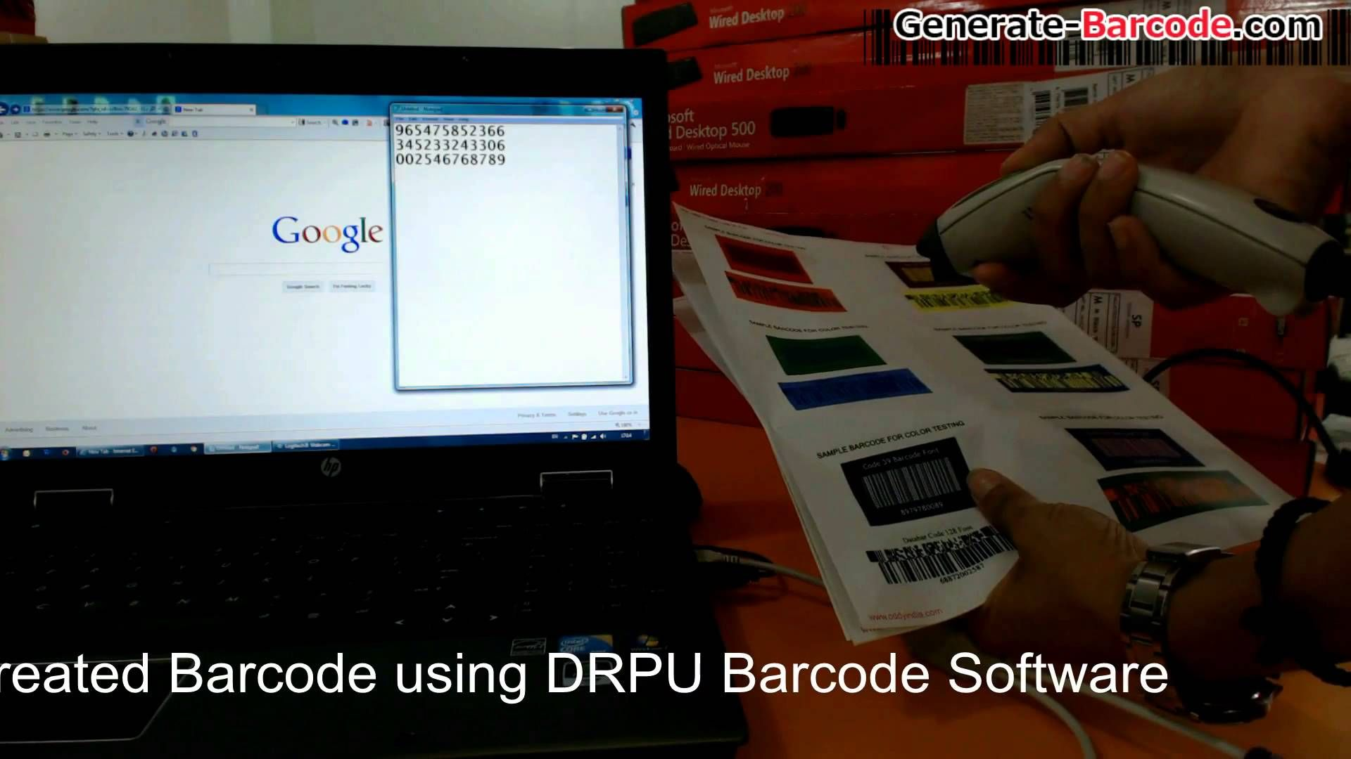 How to choose colorful barcode header and barcode footer