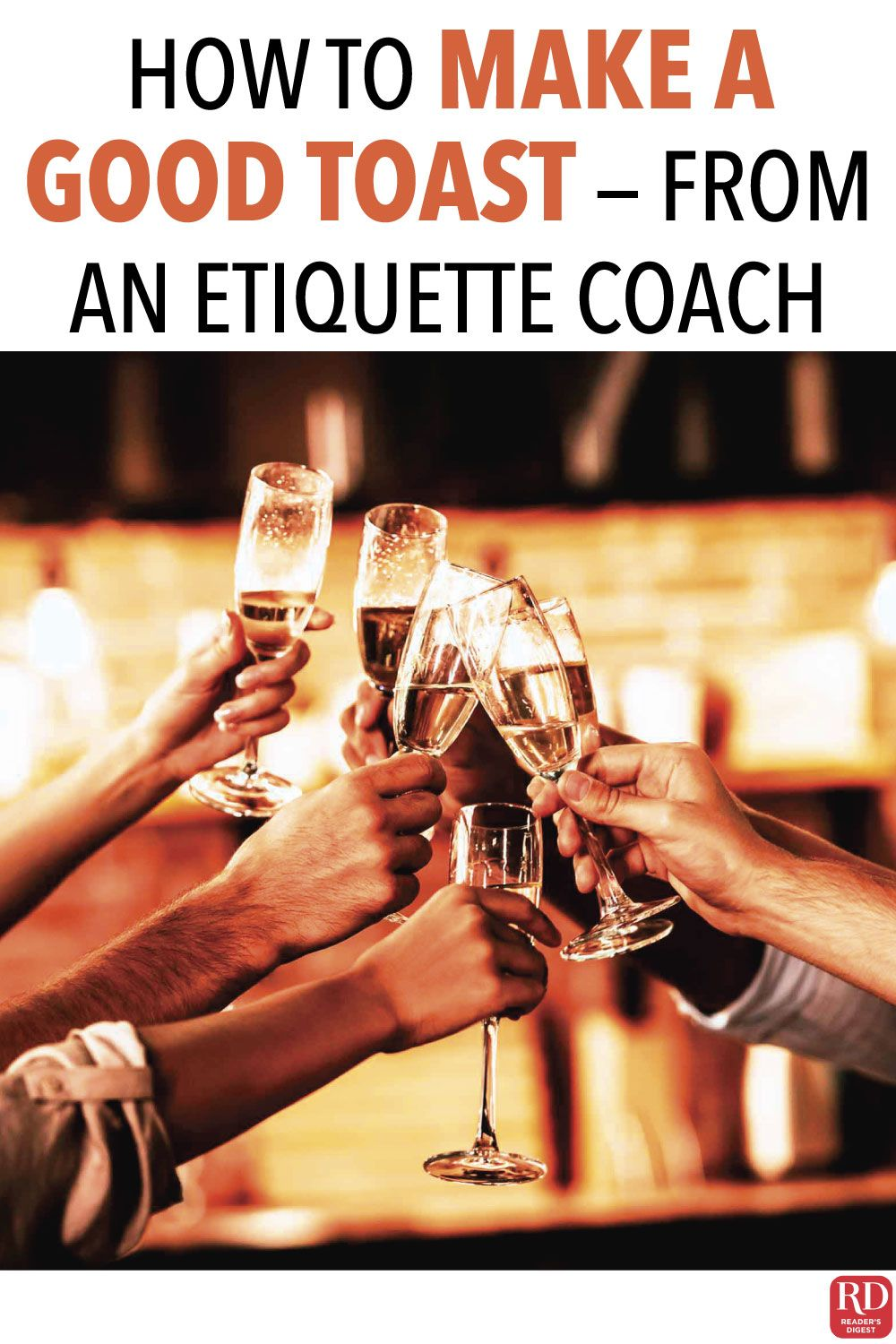 How to Make a Good Toast—From an Etiquette Coach in 2020