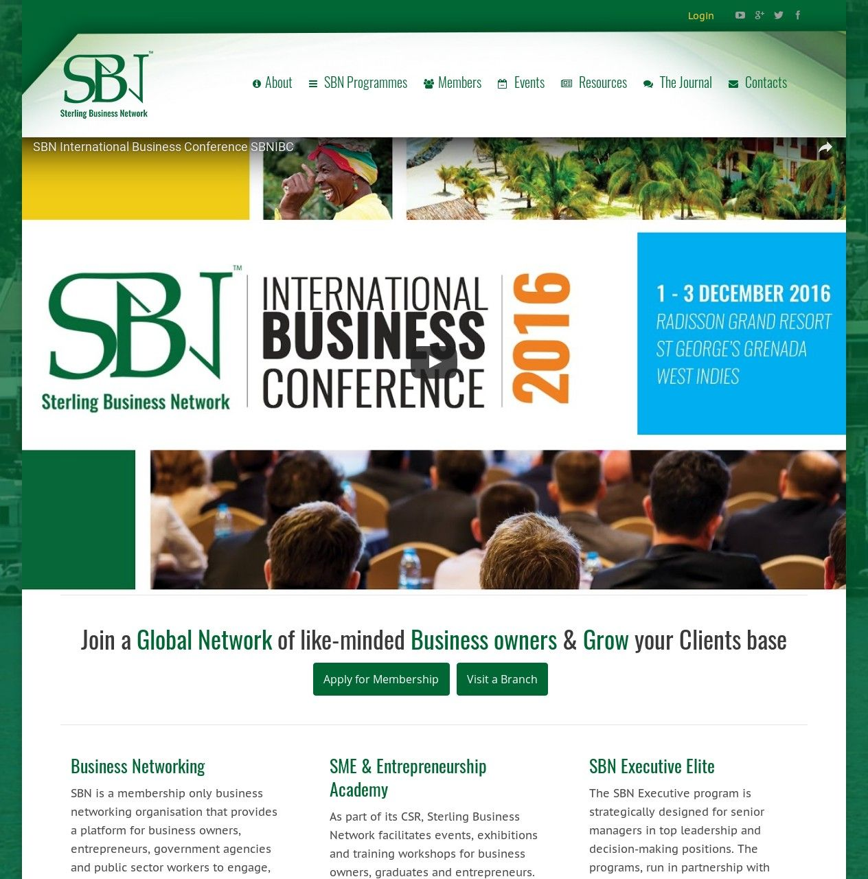 WordPress site sbngrenada.com uses the SBN Nigeria wordpress ...