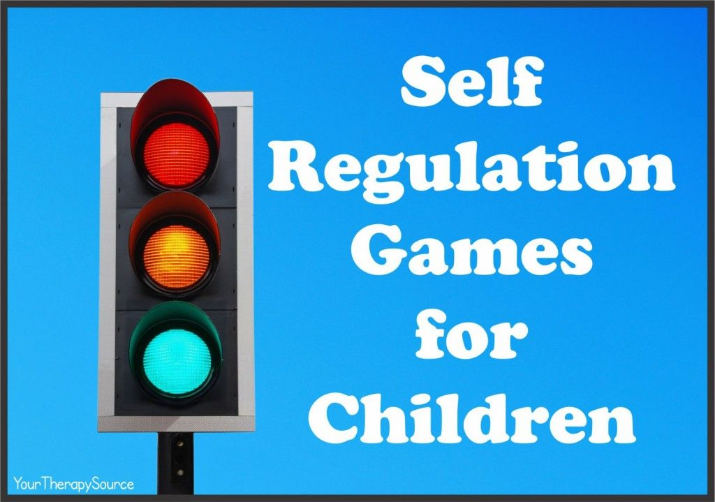 6 self regulation games for children www.YourTherapySource ...