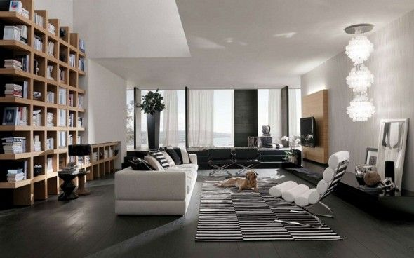 Interior Home Interiors Green Bay Modern Family Room Decorating Ideas 590x368