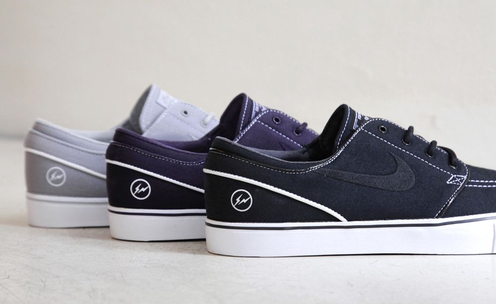 fragment design x Nike SB Zoom Stefan Janoski Low (Official Pictures)