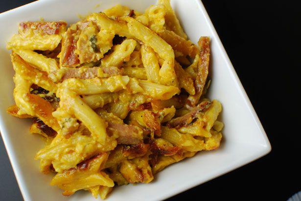 kielbasa-mustard mac & cheese