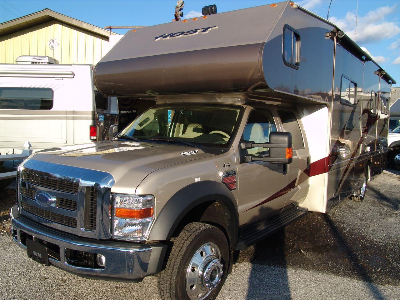 4x4 motorhomes interior 2008 new host rv 330 quad slide