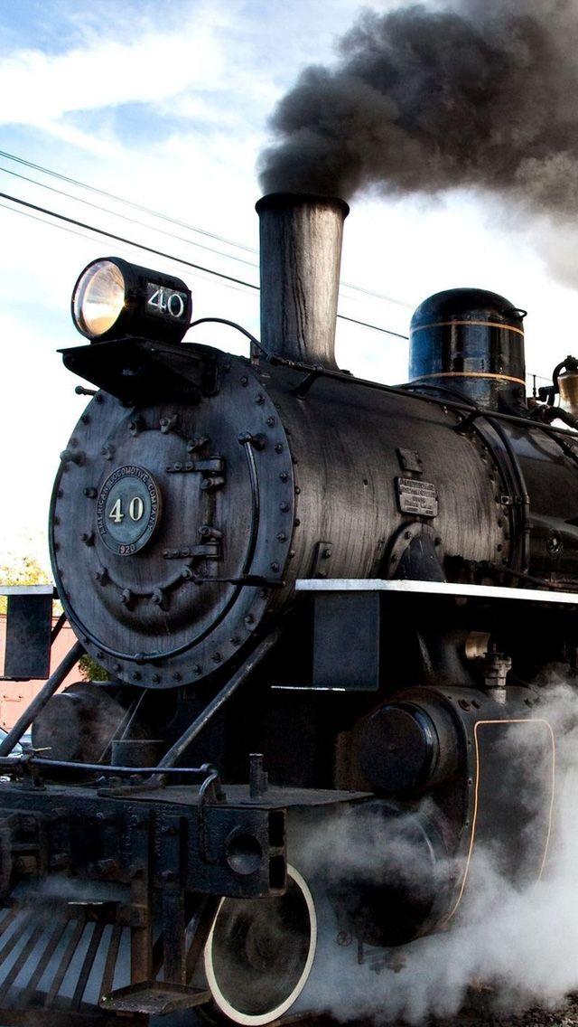 Classic steam train Train wallpaper, Steam trains, Old