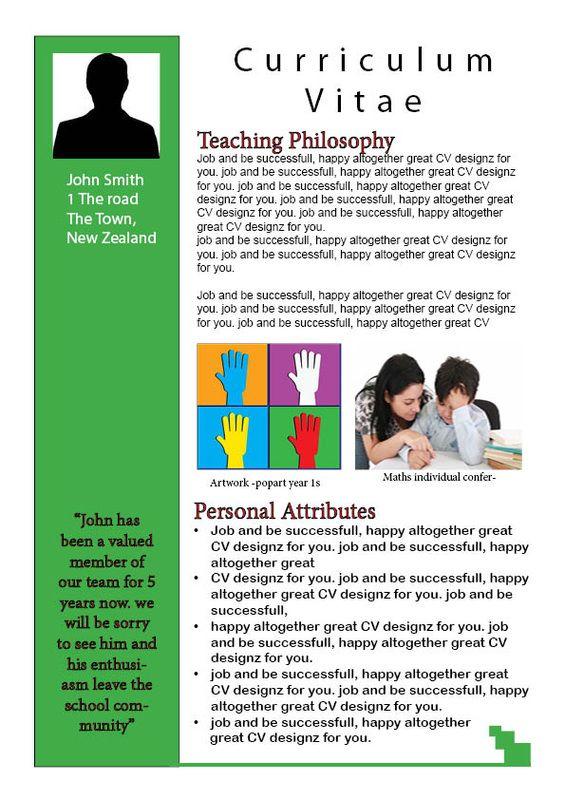 teachers resume School Pinterest Teacher resumes, Resume and - teachers resume