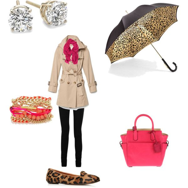 Rainy leopard kind of Day, created by ebeth76 on Polyvore