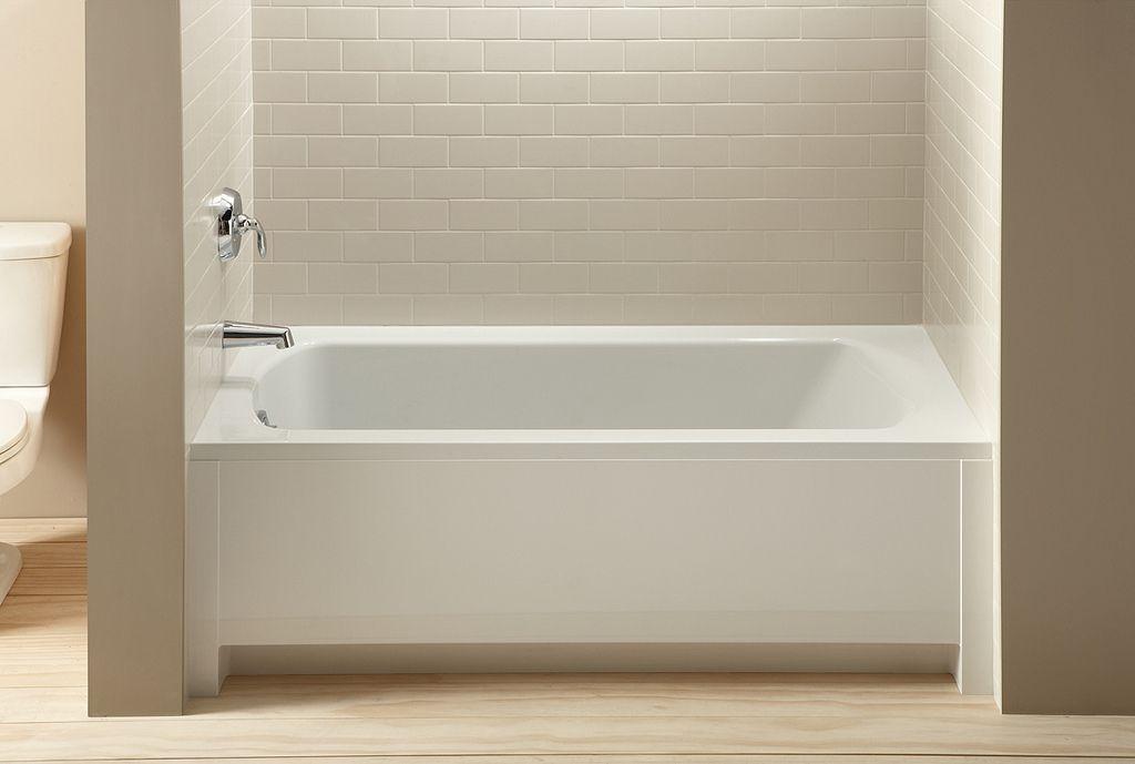 Alcove bath alcove baths are for Bathroom alcove shelves