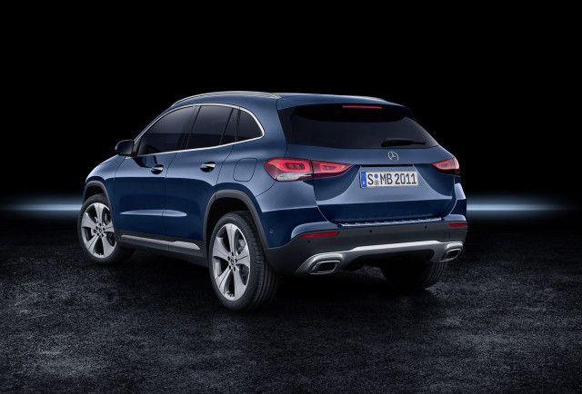 2021 Mercedes-Benz GLA introduces handsome redesign ...