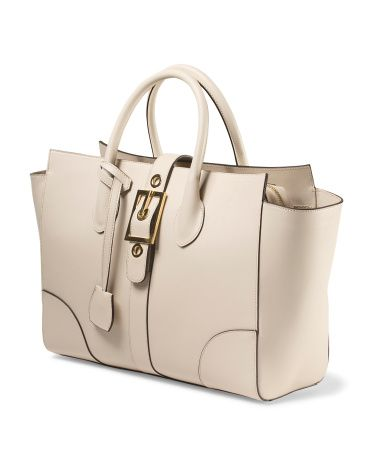 Alberta Di Canio - Made In Italy Leather Satchel | Bags ...