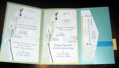 DIY Tutorial Tri Fold Pocketfold Invitations Wedding Diy Stationery 17 IMG 3258