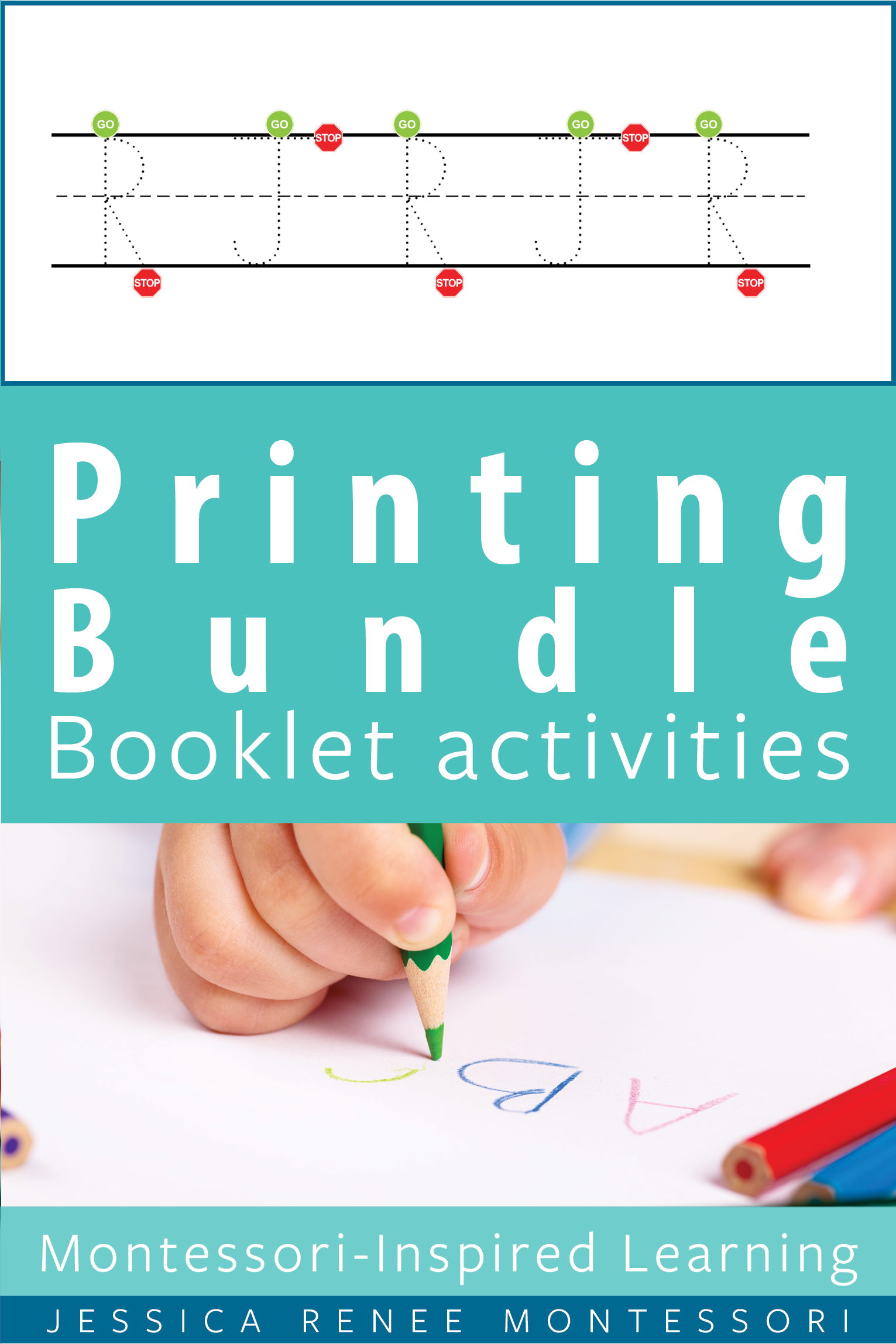 Printing Tracing Cards Booklets Posters Uppercase And