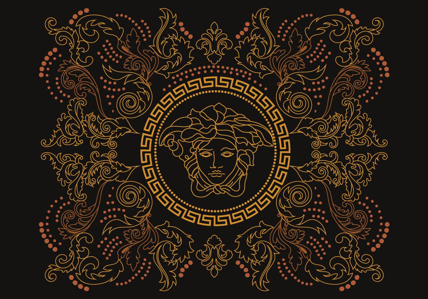 Stencil Versace Vector. Choose from thousands of free