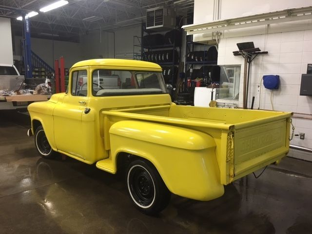1955 Chevrolet Truck With Back Window Inline 6 Cyl 3 On The Tree 12 900